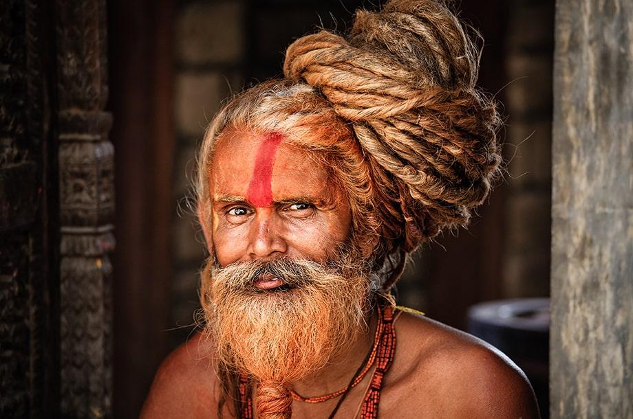 Portrait Sadhu Indien