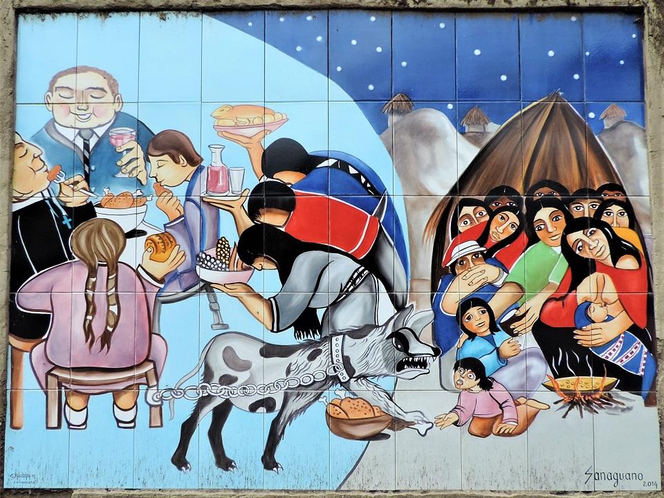 Andes peintures murales