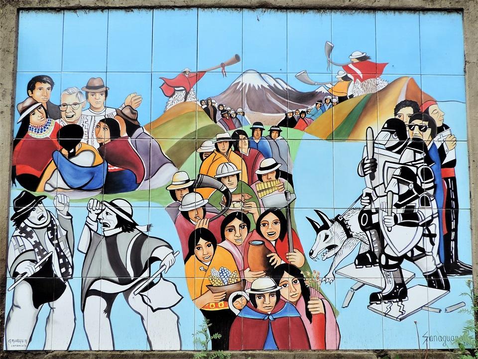Andes_Peinture murale