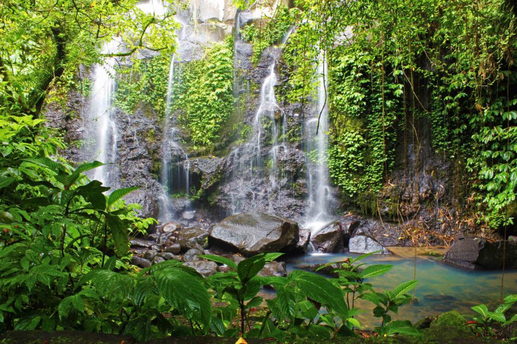 Cascade Bali Indonésie voyage ecolo