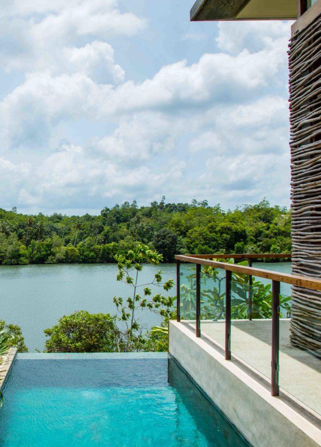 Hotel Tri_Lake Villa with Pool