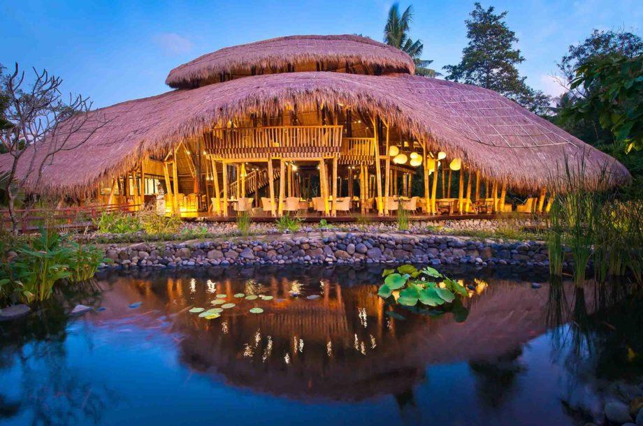 restaurant Sakti de l'hotel Five Element à Bali en Indonésie