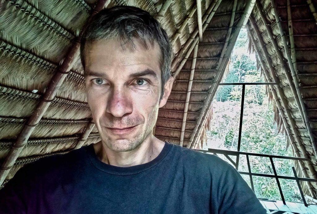 Homme de face Laurent Fontaine ethnologue