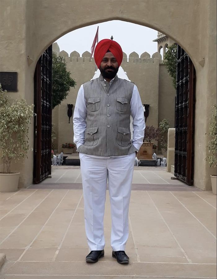 chauffeur en Inde Bhupinder Singh
