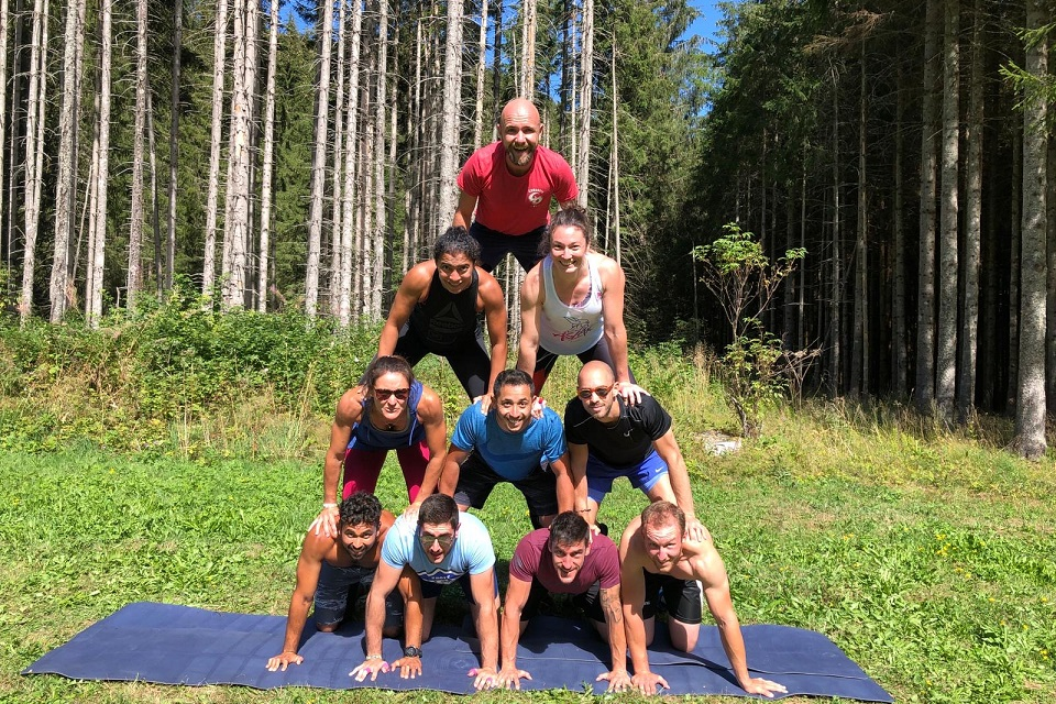 S-Camp groupe séjour CrossFit